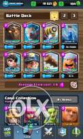 Clash royale + clash of clans th9 royale all legendary bs lumberjack 2