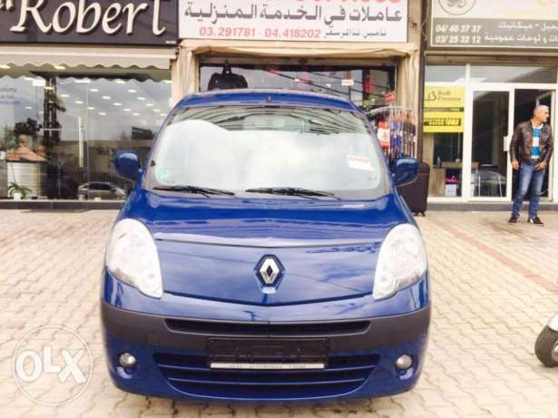 2009 Renault Kango 1.6 16V 5 Seats Navy Blue Color