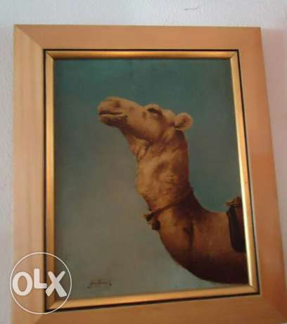 Old oil painting by Gulbank