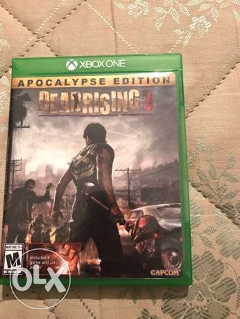 xbox one game. deadrising 3
