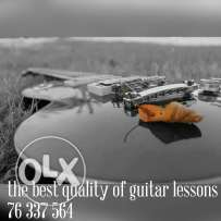 Guitar lessons (electric/acoustic)