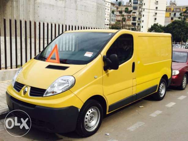 2008 Renault Traffic 2.0 16 V Yellow Color