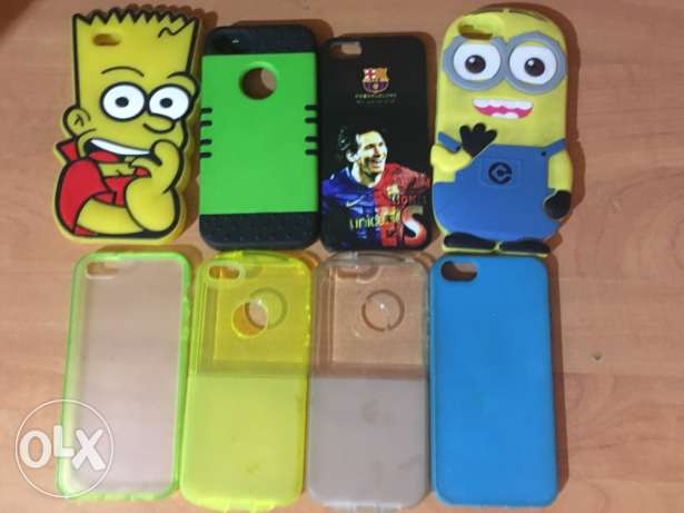iphone 5s covers prices from 5$-15$ انطلياس -  2