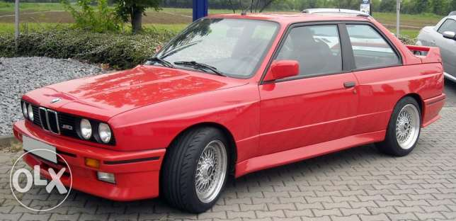 Want to buy BMW- M3- E30 سبتية -  1