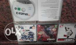6 cds for sell or trade ps3