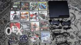 PS 3 with 16 CD and with cables