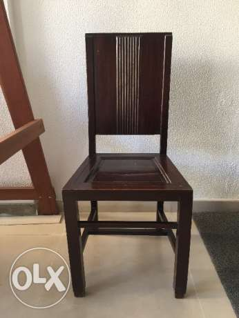 Exotic Wood Chair