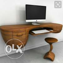 Consol office computer desk