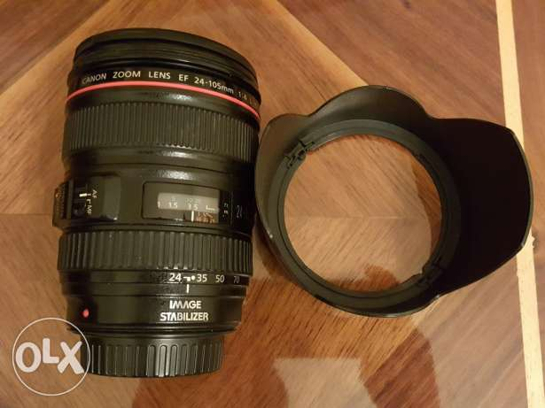 Canon lens 24-105mm f4 L IS