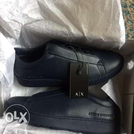 Armani Exchange Men's Hidden Lace Sneakers