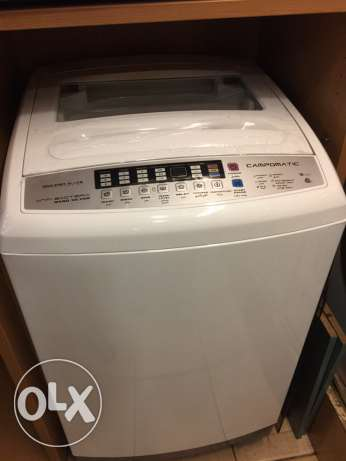 toploading washer 13 kg Campomatic NEW