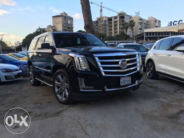Cadillac Escalade 2015 Black/Black Luxury Package Clean Carfax!