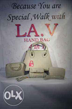 Hand bags 4 in 1