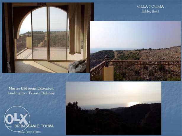 Brand New Villa Overlooking the Mediterranean Sea - Edde, Jbeil. جبيل -  8