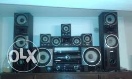 2 Sony Surround Systems 5.1 channel + Dvd for sale 1 package 600$