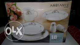 18 pcs Dinner set ( Ambiance serve with style ) new