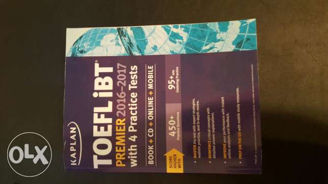 Latest Toefl ibt book with cds