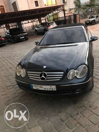 Clk 320 convertible 2004 in a v good condition بلونة -  3