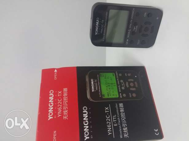 Yongnuo YN622C-tx wireless flash controller for canon