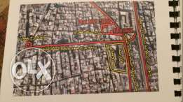 Multiple units for sale Three plots Bourjhammoud for sale