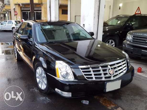 2011 Cadillac DTS Black/Black Leather Company Source 1 Owner As New أشرفية -  2