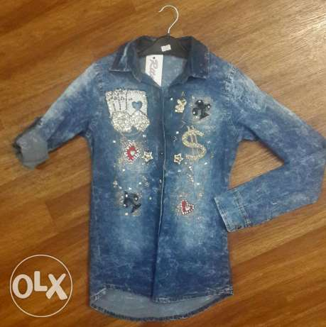 Women's jeans jacket (2 photos) فرن الشباك -  1