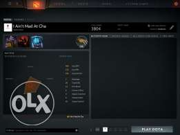 Dota 2 5k MMR account for sale
