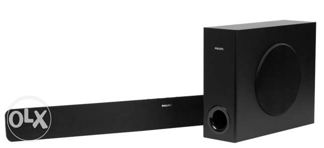 Philips sound bar and sub