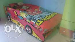 Kids car bed wonderfull ktiir ndaaf. farshetoon mawjoodin.