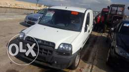 Fiat doblo new in lebanon
