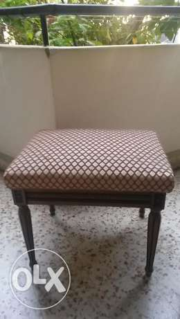 Vintage Wooden Seat for Sale