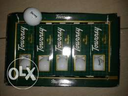 mac gregor turney golf balls 5 packs x3 mint condition