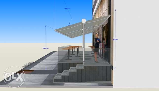 3D DESIGNER for your AWNINGS and store facades انطلياس -  8