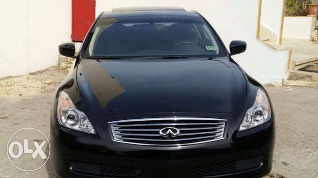 2008 G37 coupe black technology package سن الفيل -  3