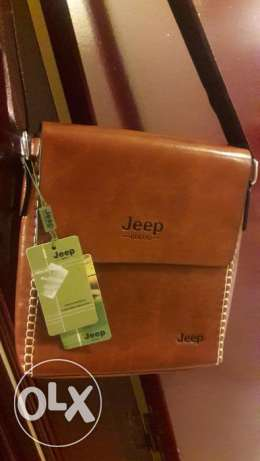 Leather bag jeep
