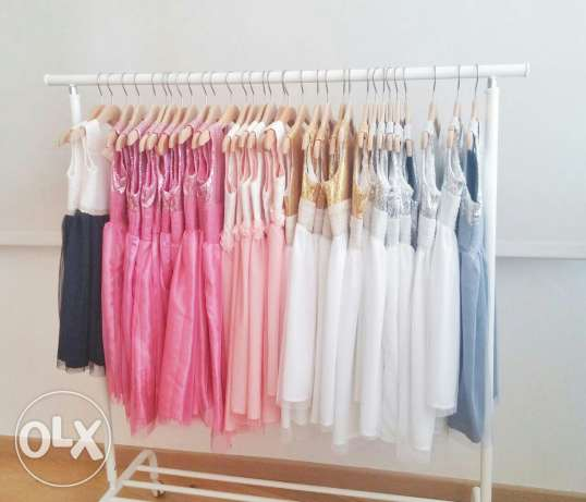 32 New Silk and tulle high quality dresses