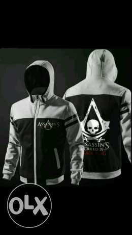 Assassin's creed black flag exclusive special autumn winte jacket hoo