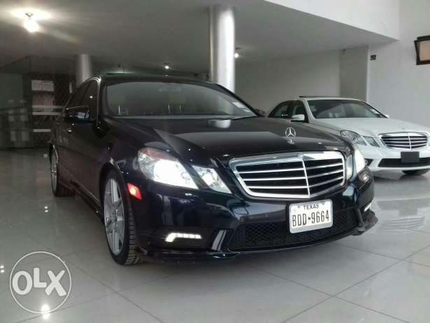 Mercedes E350 W212 mod 2010 Fulloption clean carfax camera keyless go كسارة -  5