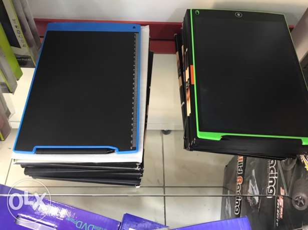 draw tablet 12 inch one key erase all color available