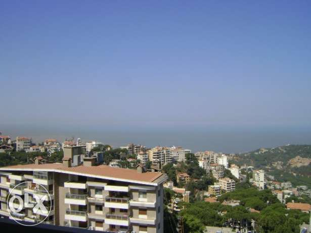 RA03, Furnished sea view apartment for rent in Broumana, 185 sqm.