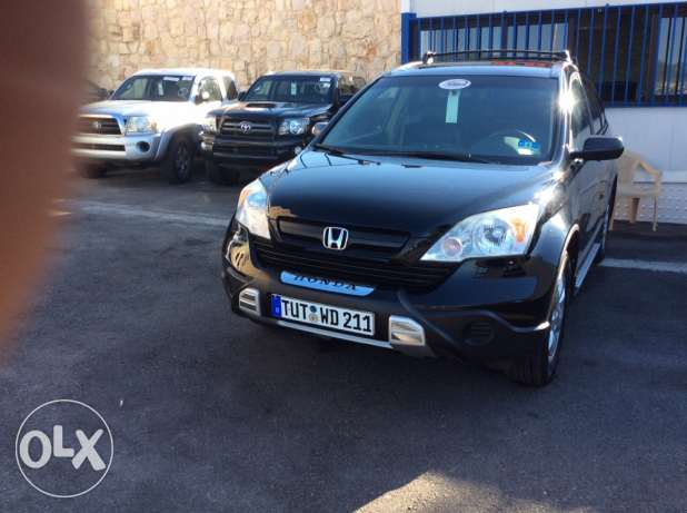 honda crv 2009 voll option 4x4 forweel drive jeld aswad