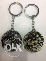 Game Of Thrones keychains. limited quantity