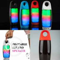 Rainbow Color Wireless Portable Stereo Speaker