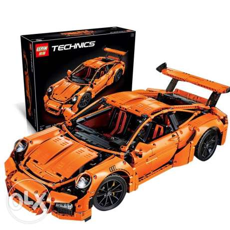Lepin Technic Porsche 911 Set Assembly