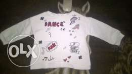 New sweatshirt Zara size 9-12 months, can be wear till 18 months