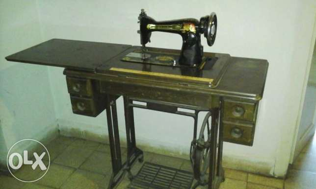 Omega Old Sewing Machine - Antique