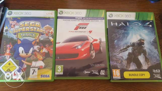 Xbox 360 CDs for sale only