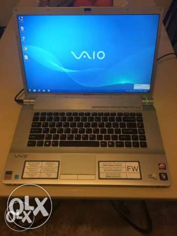 vaio laptop with original case