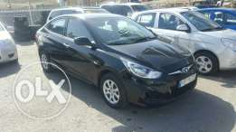 HyundaiAccent 2013 f.o black like new