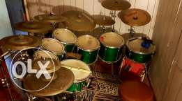 Yamaha drums stage and maple custom for sale